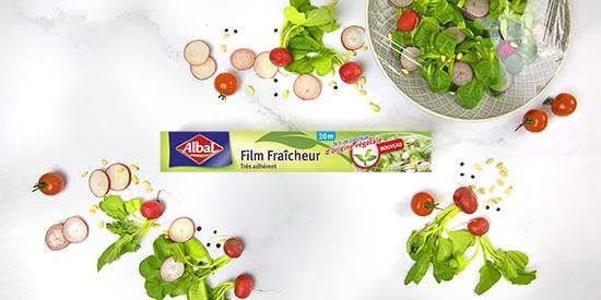 Film Fraîcheur d'Origine Végétale d'Albal