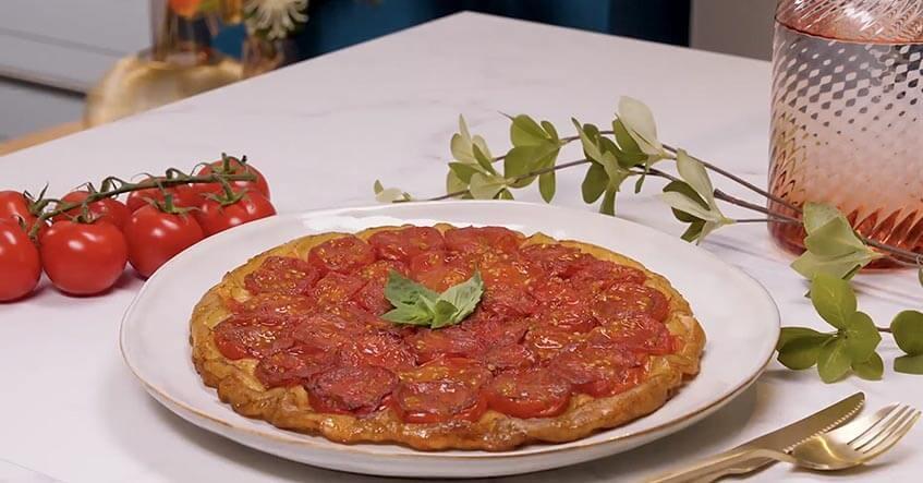 Recette de la Tarte Tatin à la Tomate