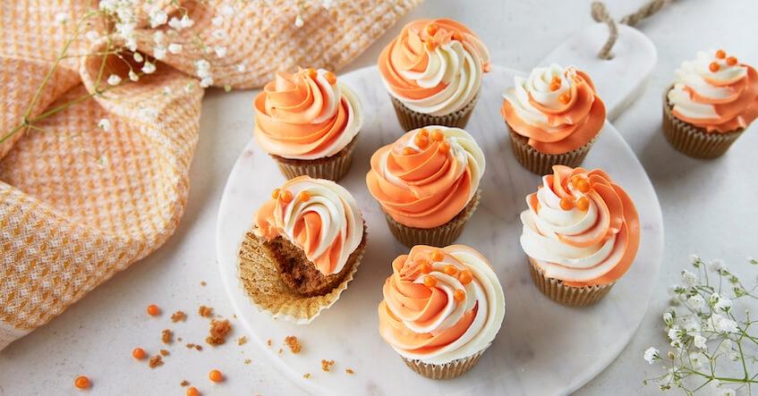 Recette du Cupcakes façon Carrot Cake