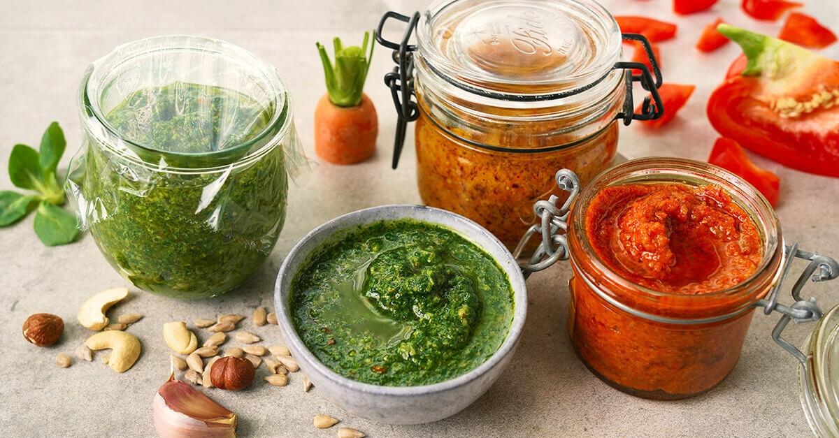 Une recette anti-gaspi de pesto à base de restes de légumes