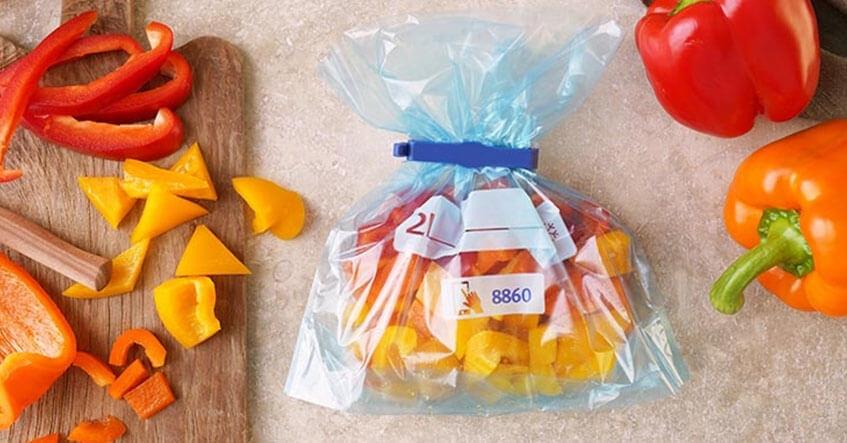 astuce pour congeler des poivrons