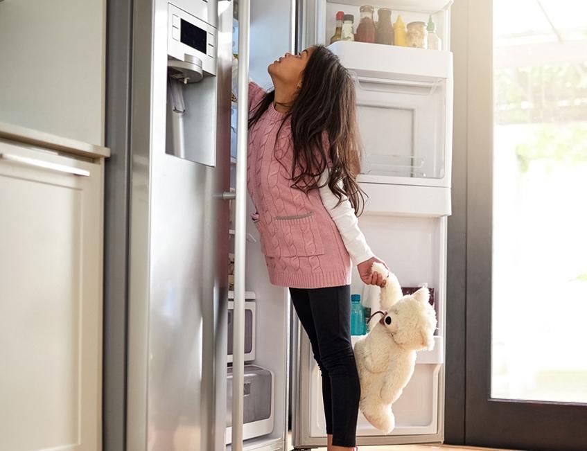 odeurs de frigo