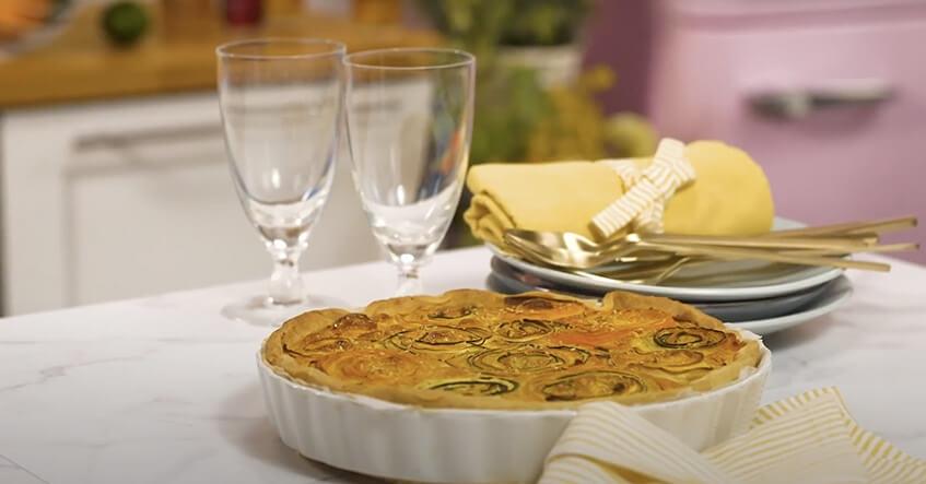 recette Tarte Serpentin Carottes-Courgettes