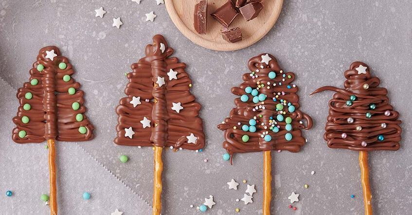 recette pour faire des sapin en chocolat