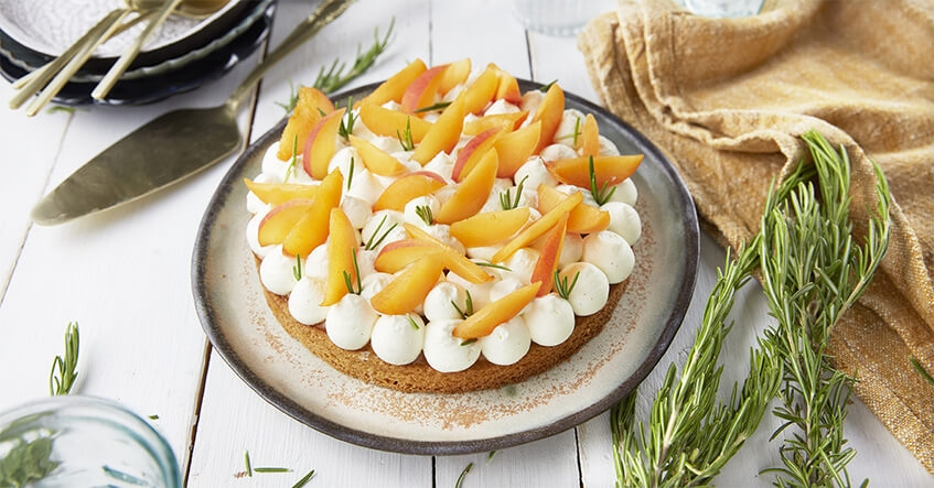 recette tarte abricot romarin fait maison