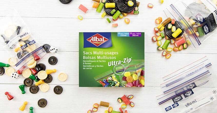 sacs Multi-usages Ultra-Zip® Mini d'Albal®